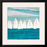 Afternoon Regatta II Print by Dan Meneely