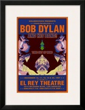 Bob Dylan - At The El Rey Poster by Dennis Loren