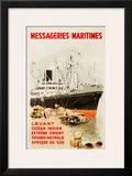 Mess Maritimes - Levant Fren Prints by Albert Brenet