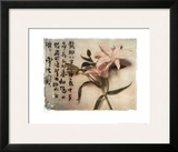 Oriental Lily Art by Julie Nightingale