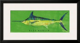 Blue Marlin Art by John Golden