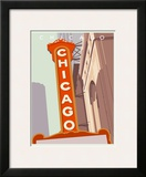 Art Deco-Chicago Print by Richard Weiss