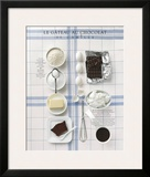 Chocolate Cake Print by  Soulayrol & Chauvin