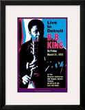 B.B. King - Live in Detroit Prints by Dennis Loren