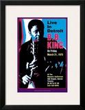 B.B. King - Live in Detroit Prints by Dennis Loren