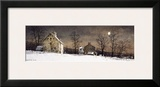 Mill Moon Framed Giclee Print by Ray Hendershot