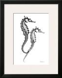 Sea Horse Twins Print by Albert Koetsier