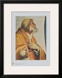 Sistinine Madonna - Pope Sixtus (Detail) Prints by  Raphael