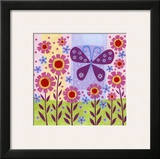 Butterfly Meadow Posters by Kim Conway