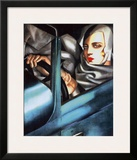 Autoportrait Print by Tamara de Lempicka