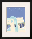 Art Deco-Miami Prints by Richard Weiss