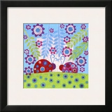 Ladybug Spots Posters by Kim Conway