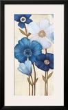 Fleurs Bleues I Posters by  Maja