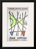Exposition Galerie Colette Allendy Poster by Jean Leppien