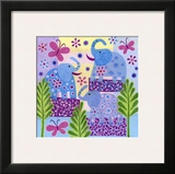 Elephant Sunshine Poster by Kim Conway