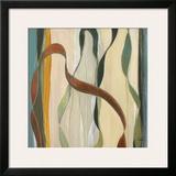 Falling Ribbons I Art by  Judeen