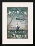 Adventure Poster by Janet Kruskamp