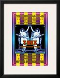 T. Rex at the Whiskey A-Go-Go Art by Dennis Loren