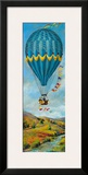 Air Balloon I Framed Giclee Print by  Georgie