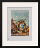 Capriccio Print by Francesco Guardi