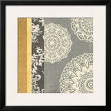 Contemporary Lace I Print by Moira Hershey