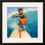 Surfer Prints by Rebecca Kinkead