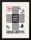 No Regrets: Snow Boarder Poster
