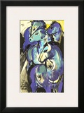 The Tower of Blue Horses, 1913 Posters by Franz Marc