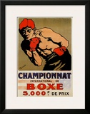 Championnat Boxing Poster