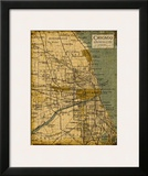 Environs Chicago Prints by Carole Stevens