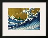 Great Wave (from 100 views of Mt. Fuji) Print by Katsushika Hokusai