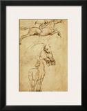 Sketch of a Horse Prints by  Leonardo da Vinci
