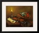 Stilleben mit Geige Prints by Elisabeth Paetz-Kalich