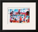 St. Germain - Tunis Landeinwaerts Prints by Paul Klee