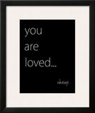 You Are Loved Prints by Kristin Emery