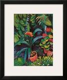 Blumen im Garten Prints by Auguste Macke
