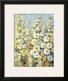Cluster of Hollyhock I Prints by Tim O'toole