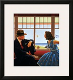 Edith and the Kingpin Prints by Jack Vettriano