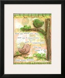 Birds Pink 4 Prints by Diane Stimson