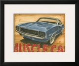 Vintage Muscle II Prints by Ethan Harper