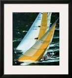 Swan America Regatta, Newport Prints by Carlo Borlenghi