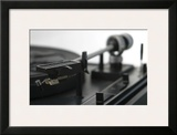 Turntable II Poster by Renee Stramel