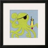 Captain Calamari Prints by Erica J. Vess