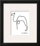 The Camel Print by Pablo Picasso