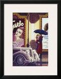 Au Cinema Prints by Denis Nolet