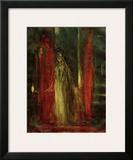 Lady MacBeth Framed Giclee Print by Henry Fuseli