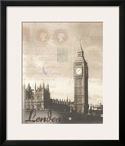 London Travelogue Art by Ben James
