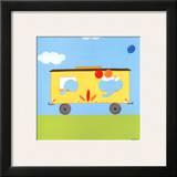 Circus Train III Art by Erica J. Vess
