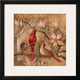 Elegance in Red I Art by Elaine Vollherbst-Lane