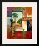 Palm Serenity II Print by  Judeen